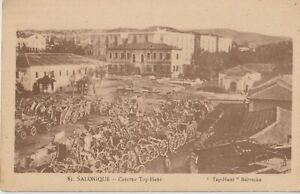"1918 GREECE THESSALONIKI ""TAP -HANE"" BARRACKS"