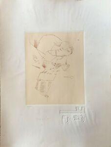 Giannetto Fieschi incisione 70x50 firmata numerata edizione GraphicsArte
