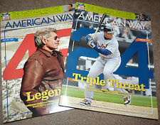 #1 & #2 APR 1 2013 American Way BASEBALL Issues MIGUEL CABRERA HARRISON FORD 42
