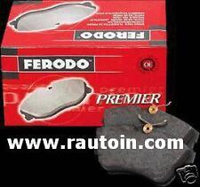 FIAT UNO TURBO ie 1300 MK1/2  4 PASTICCHE FRENI ANTERIORI FDB370