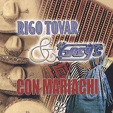 Rigo Tovar y los Grey's Con Mariachi by Rigo Tovar (CD, Feb-2003, Fonovisa)