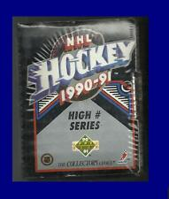 1990-91 Upper Deck Hockey High Number Series Fact. Sealed Set Sergei Federov RC