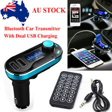 Wireless Bluetooth LCD Car Kit FM Transmitter Radio MP3 Music Player USB Charger