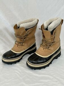 Sorel Caribou Buff Winter Snow Boots Womens Size 7 NL1005-280 Waterproof