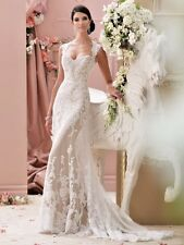 DAvid Tutera Bridal Gown LOURDES 115229 size 14
