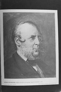 George Cruikshank - Print by International Portrait Gallery - Vintage L1117B
