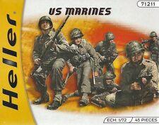 Heller 49616 WW11 US Marines 1/72 SCALA KIT MODELLINO IN PLASTICA