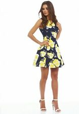 A X Paris Women's lovely patterned dress: size 8
