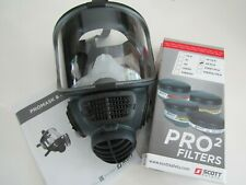 SCOTT SAFETY PROMASK 2 + Pro 2 Filters
