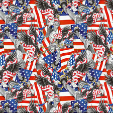 Hydrographic Film Water Transfer Printing Film Hydro Dip Usa Icons 1M
