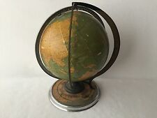 Cram's Deluxe Terrestrial Globe Daily Sun Ray and Season Indicator 1930's