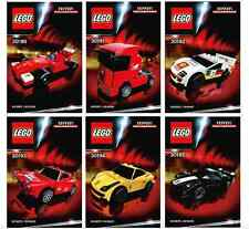 LEGO® Racers Ferrari 30190 30191 30192 30193 30194 30195 30196 Shell Set Neu