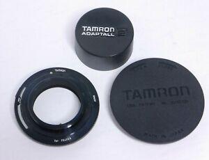 Genuine Tamron Adaptall 2 Fujica M42 Screw Mount Adapter w/  Original Caps