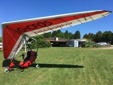 Flylight Dragonfly. SSDR Aeros Discus Wing. Microlight. 4 Stroke.