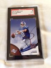Eli Manning Autographed 2006 UD Sweet Spot SGC CERTIFIED GENUINE RARE