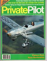 Private Pilot Plane  May 1989 Ryan Restoration How to in Engine Monitors