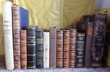 Lotto di 12 libri antichi romanzi vari (Dumas,W.Scott,Manzoni & altri)