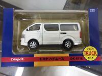 TOYOTA HIACE VAN White 1:36 Diapet DK-5118 ya07720 Free Shipping From Japan