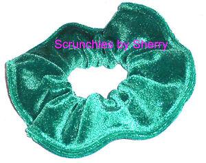 Hair Scrunchie Sparkling Glitter Velvet Tie Ponytail Holder Scrunchies by Sherry