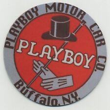 Playboy Motor Car Co. - Beverage Coaster - Buffalo New York