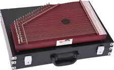 SWARMANDAL~DARK MATTE FINISH~SURMANDAL~HARP~TUNING KEY & CARRY BOX~MANTRA, CHANT