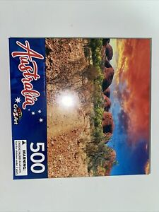 """New 500 Pieces Cra-z-Art Jigsaw Puzzles """"Beautiful Colours of the Outback''"""