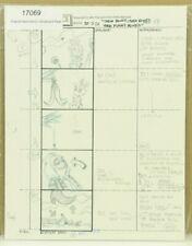 Beetlejuice Original Hand Drawn Storyboard Animation Sketch Page 54 (2-1)