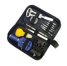 13-Piece Watch Repair Tool Kit Case Holder Precision Screwdrivers Openner