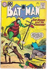 BATMAN #143 / BAT-HOUND AND THE CREATURE / LAST 10 CENT COMIC / 1961 / DC COMICS