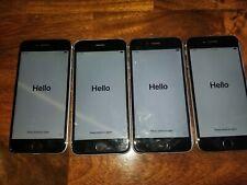 Lot of 4 Apple iPhones 6 - 16GB - Space Gray (Verizon) A1549 (CDMA + GSM)