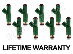 96 97 98 Jeep Grand Cherokee 5.2 5.9 V8 4-hole Upgrade Fuel Injectors [w/video]