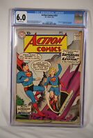 DC Action Comics #252 1st Appearance SuperGirl Superman CGC 6.0