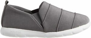 Isotoner Womens Closed Back Sports Knit Slippers