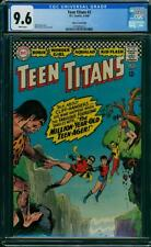 Teen Titans #2 CGC 9.6 DC 1966 White Pages! Key Silver! Robin! JLA! K10 cm clean