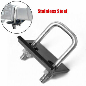 """Trailer Hitch Tightener Anti Rattle Stabilizer 1.25"""" 2"""" Hitches Mount Tow Clamp"""