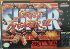 Super Street Fighter II for SNES complete in box