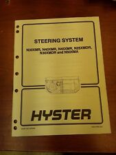 Hyster Steering System Manual 1600 SRM 605 Part No. 897848