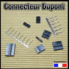 connecteur type Dupont mâle ou femelle pour projet arduino à câbler