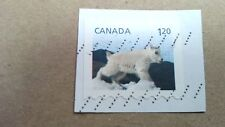 """Canada, Mountain Goat Stamp, 1"""" x 3/4"""", 1.20"""