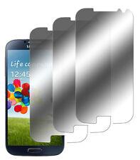 3 x Spiegelfolie Samsung Galaxy S4 Displayschutz Folie Mirror Screen Protector