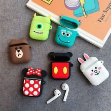 Apple Airpods Case Disney Minnie Mickey Monsters Inc Earphone Airpod Cover  NEW!