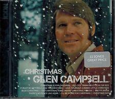 GLEN CAMPBELL- CHRISTMAS - 11 SONGS - NEW SEALED CD