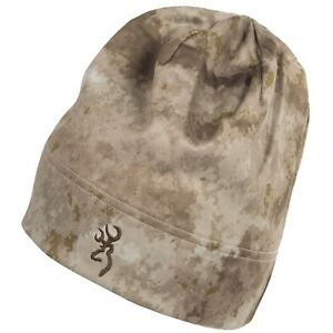 Browning Speed Trailhead Soft Shell Camo Hunting Beanie Hat / Cap - NEW!