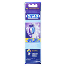 Braun Oral-B SR32-4 Pulsonic Value Pack Replacement Brush Heads 1Pack(4PCS)
