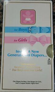 Vintage Luvs Diapers (large samples box)