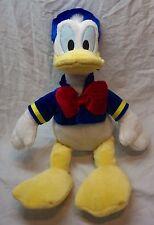 "Walt Disney Store Nice Soft Classic Donald Duck 16"" Plush Stuffed Animal"