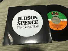 "JUDSON SPENCE SPANISH 7"" SINGLE SPAIN SAME SIDED ATLANTIC 88"