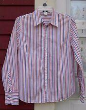 "J. CREW Multi-color Long Sleeved Button Down Cotton Shirt Medium (39"") EUC"