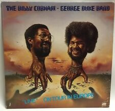 """The Billy Cobham / George Duke Band """"Live"""" On Tour In Europe Clean Record Lp"""