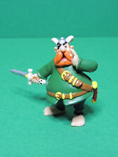 Asterix & Obelix Barbe Rouge figurine pirate PVC Plastoy 97' Redbeard figure #1